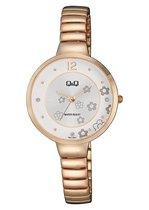 Mooi horloge Q&Q F611j021Y rosekleurig