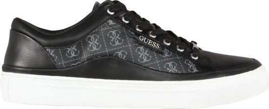 GUESS Larry Heren Sneakers - Zwart-Grijs - Maat 40