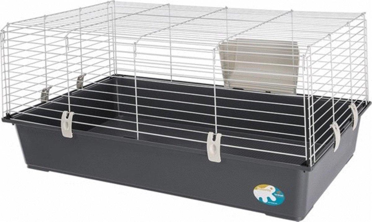 Ferplast Rabbit 100 Basic - Konijnenkooi - Assorti - 95 x 57 x 46 cm