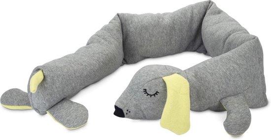 Beeztees Puppy Cosy Doggy Knuffel - Hondenspeelgoed - Grijs - 120 x 12 x 9,5 cm
