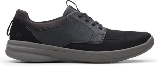 Clarks - Herenschoenen - StepStrollLace - G - black - maat 7,5