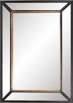 Spiegel 50*70 cm Zwart | 52S138 | Clayre & Eef