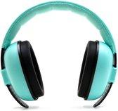 Gehoorbeschermer Kind Turquoise, Verstelbaar Voor Kinderen Van 3 Maanden Tot 8 Jaar. Geluidsreductie Van 25 DB