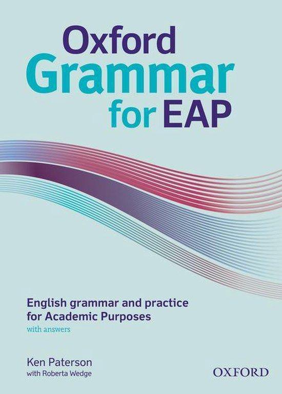 Boek cover Oxford Grammar for EAP van Ken Paterson (Onbekend)