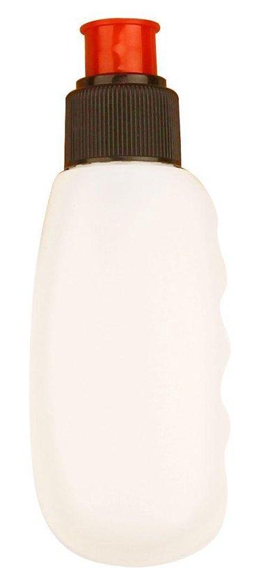 Avento - Drinkgordel incl. 4 drinkflessen - Zwart