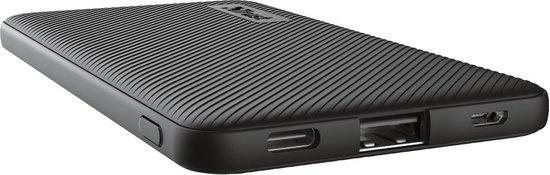 Trust Mobile Primo - Powerbank Ultra dun - 5000 mAh - USB-C