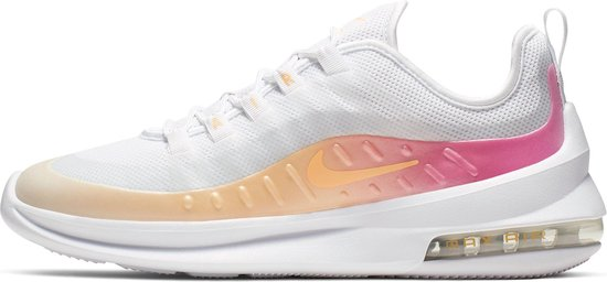 Nike Air Max Axis Prem Sneakers Dames - White/Melon Tint-Laser Fuchsia