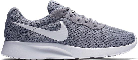 Nike Tanjun Heren Sneakers - Wolf Grey/White - Maat 43