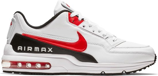 Nike Air Max LTD 3 Heren Sneakers - White/Univ Red-Black - Maat 44