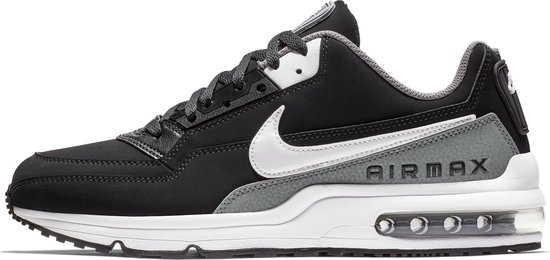 Nike Air Max LTD 3 Heren Sneakers - Black/White-Cool Grey - Maat 41