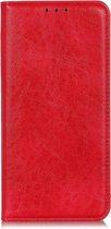 Mobigear Magnetic Luxe Wallet Hoesje Rood Google Pixel 4