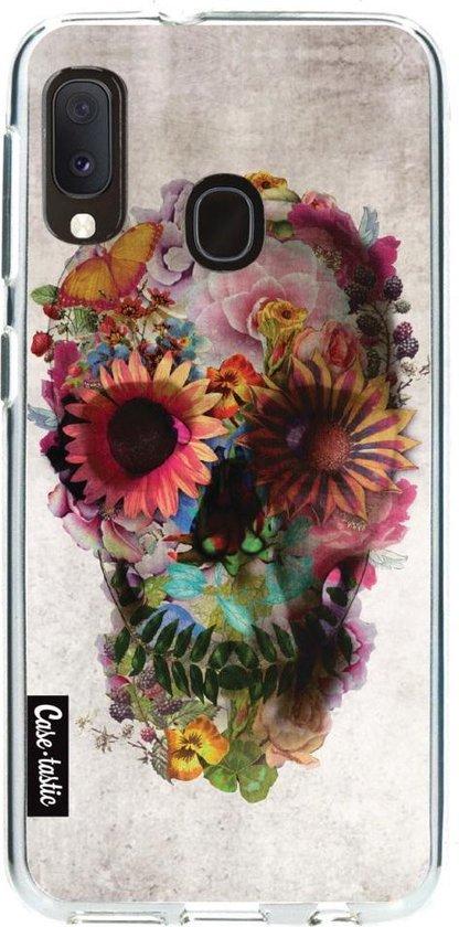 Samsung Galaxy A20e hoesje Skull 2 Casetastic Smartphone Hoesje softcover case