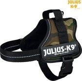 Julius K9 IDC Powertuig/Harnas - Hondentuigje - Army - S - Mini 49-67 cm