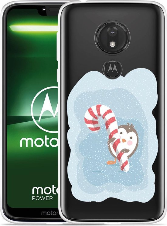 Moto G7 Power Hoesje Candy Pinquin
