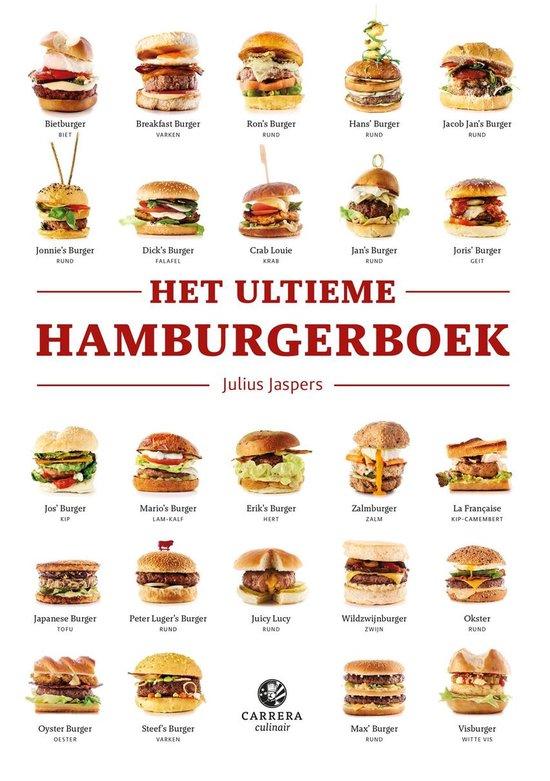 Het ultieme hamburgerboek - Julius Jaspers  