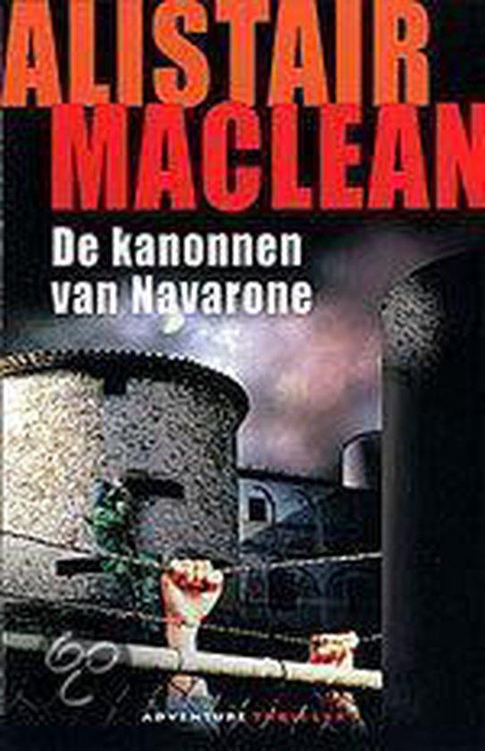 Kanonnen van navarone - Alistair Maclean | Fthsonline.com