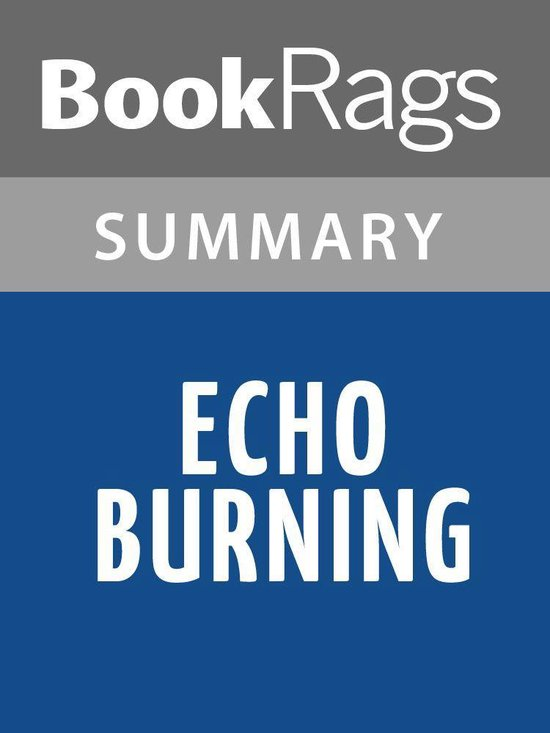 Omslag van Echo Burning by Lee Child Summary & Study Guide