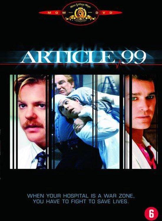 Cover van de film 'Article 99'