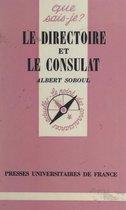 Le Directoire et le Consulat, 1795-1804