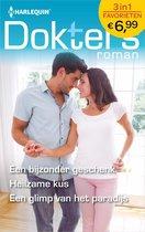 Omslag Doktersroman Favorieten 595 - Een bijzonder geschenk ; Heilzame kus ; Een glimp van het paradijs