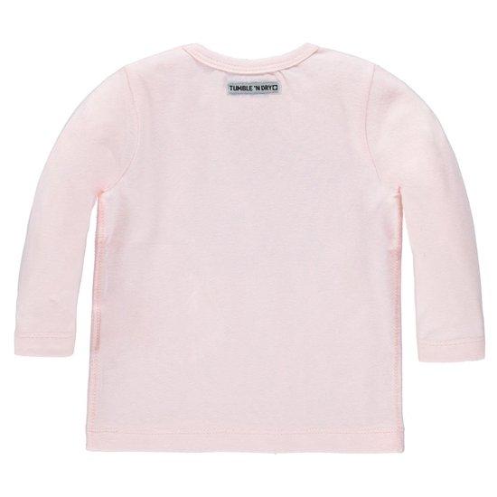 Tumble 'n dry Meisjes T-shirt - veiled rose - Maat 62