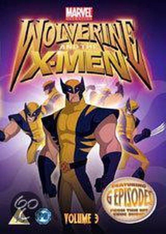 Cover van de film 'Wolverine And The X-Men: Volume 3'