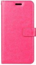 Motorola Moto E6 Portemonnee hoesje roze