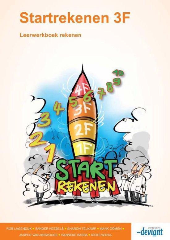 Startrekenen 3F - Leerwerkboek rekenen - Rob Lagendijk  