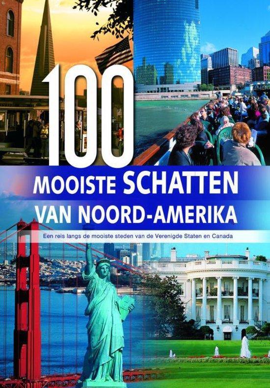 Cover van het boek '100 Mooiste schatten van Noord-Amerika'