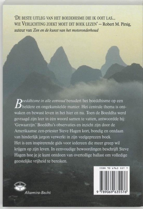 Boeddhisme in alle eenvoud - Steve Hagen