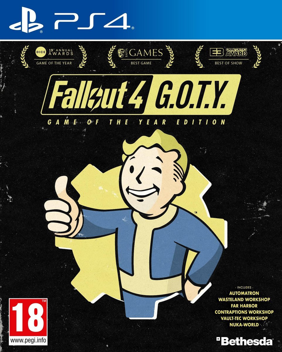 Fallout 4 - Game of the Year Edition - PS4 - Fallout 4 Goty Ben Ps4