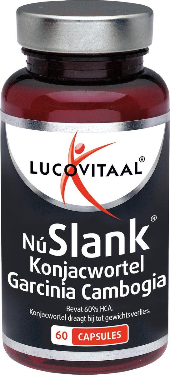 Lucovitaal Nu Slank Konjacwortel Garcinia Cambogia Voedingssupplement - 60 capsules