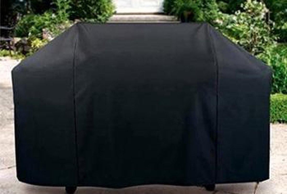 WT Trading Barbecue Beschermhoes - 145 x 61 x 117 cm - Zwart - Inclusief trekkoord