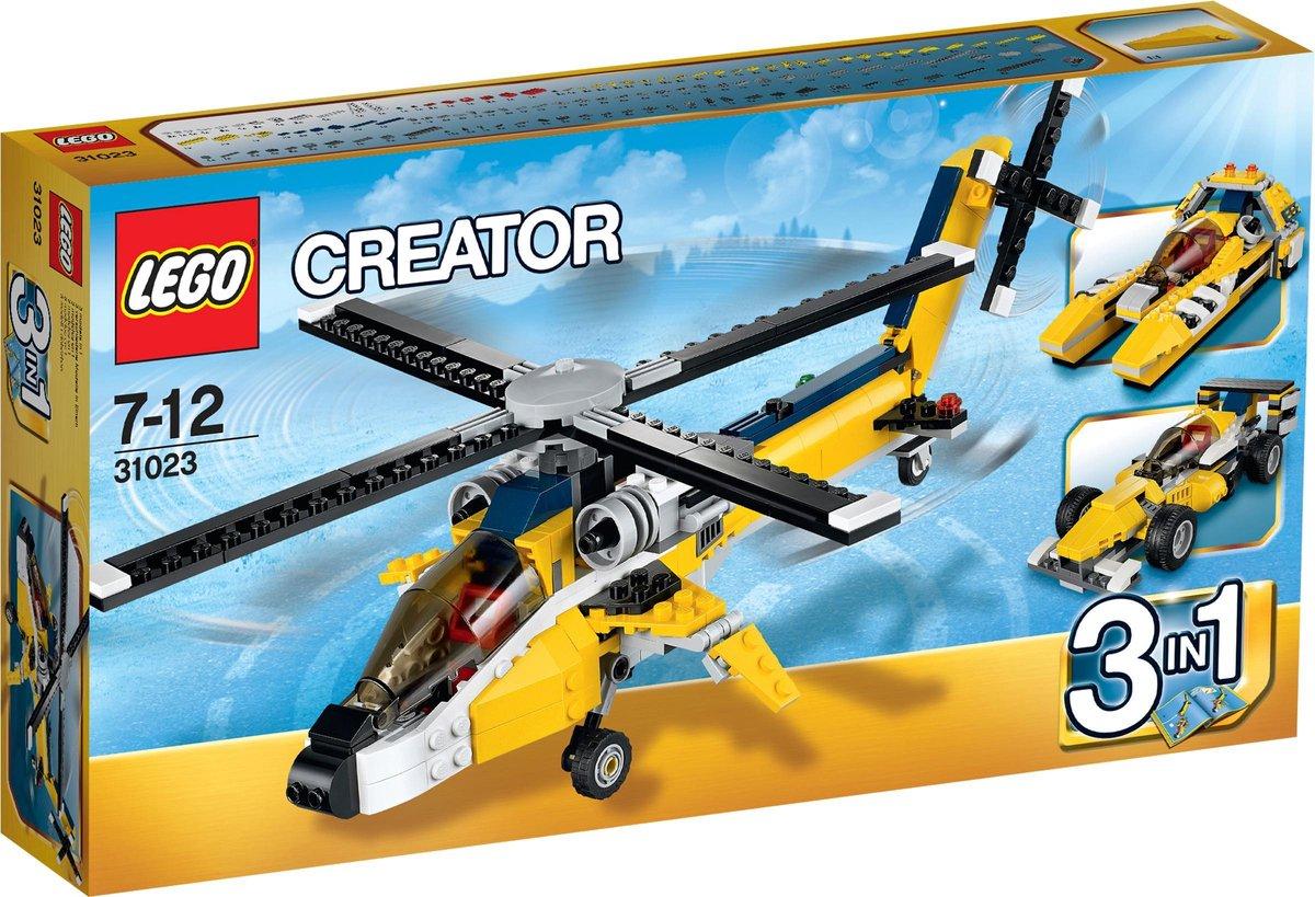 LEGO 31023 Gele Racers