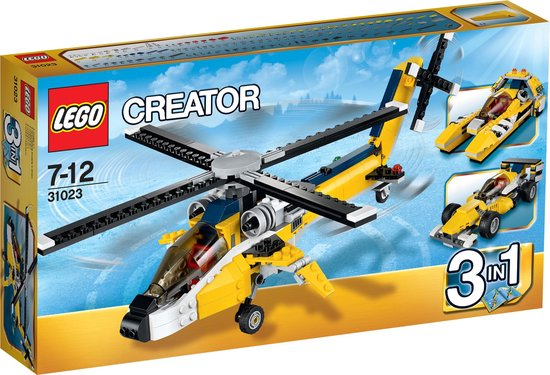 LEGO Creator Gele Racers - 31023 - LEGO