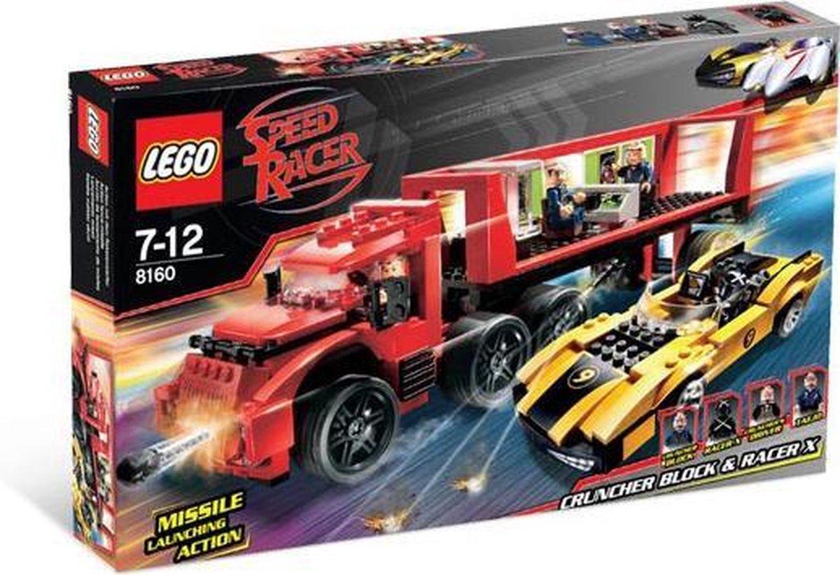 LEGO Speed Racer Cruncher Block & Racer - 8160