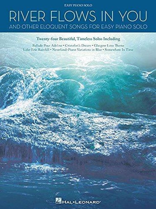 Boek cover River Flows In You And Other Eloquent Songs For Easy Solo Piano van Hal Leonard Corp. (Paperback)