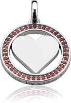 Zinzi All You Need is Love - Zilveren Hanger - Hart (LOVEH01R)