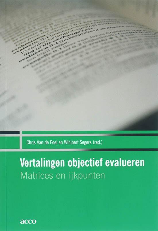 Vertalingen objectief evalueren