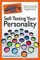Boek cover The Complete Idiots Guide to Self-Testing Your Personality van Arlene Matthews Uhl