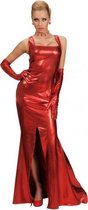 Rode cocktail jurk S
