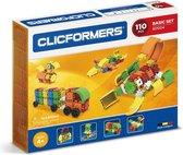 Clicformers bouwblokken - Basic 110 pcs bouwset - gepatenteerd constructie speelgoed - made in Belgium bouwspeelgoed