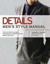 Boek cover Details: Mens Style Manual van Daniel Peres