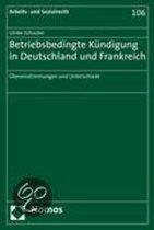 Betriebsbedingte Kundigung in Deutschland Und Frankreich