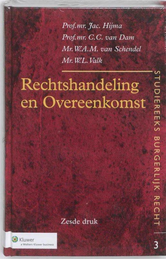 Afbeelding van Rechtshandeling en Overeenkomst
