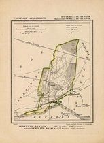 Historische kaart, plattegrond van gemeente Renkum ( Renkum) in Gelderland uit 1867 door Kuyper van Kaartcadeau.com