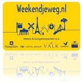 Weekendjeweg.nl Cadeau Card €150 - enveloppe verpakking