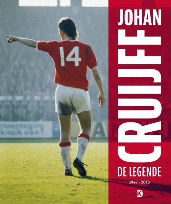 Boek cover Johan Cruijff: de legende van Matty Verkamman (Hardcover)