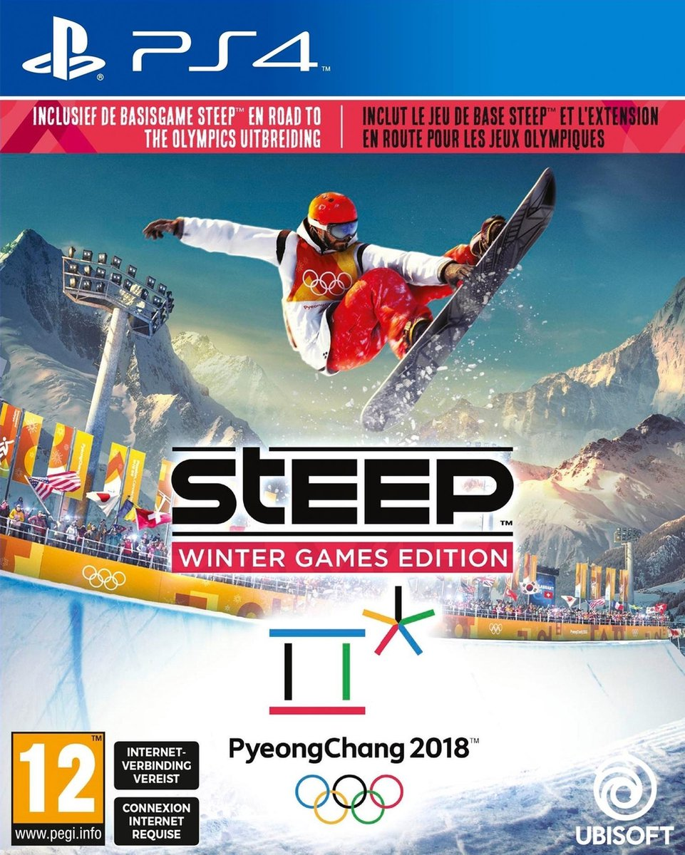 Steep: Winter Games Edition - PS4 - Ubisoft