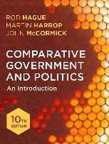 Boek cover Comparative Government and Politics van John Mccormick